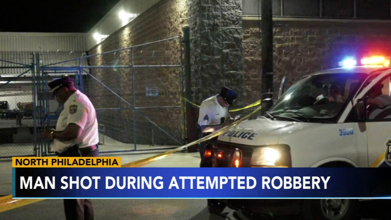Man shot in attempted robbery in North Philadelphia