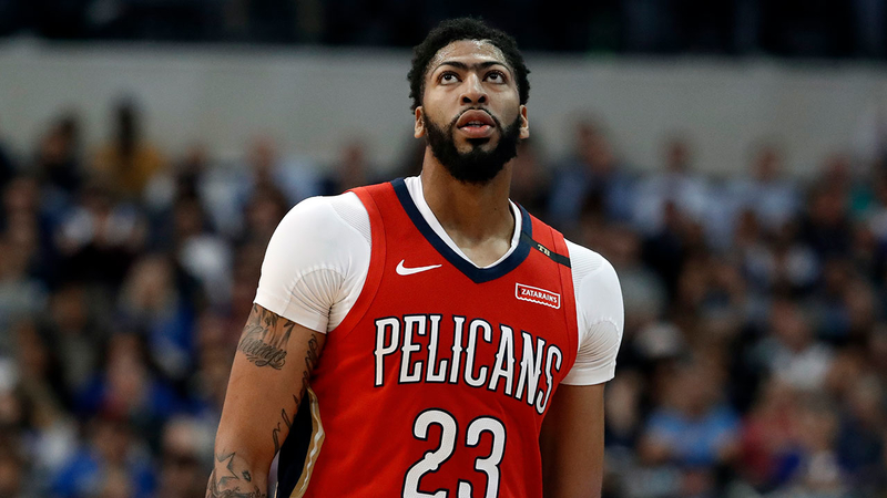 Lakers Reach Deal To Acquire Anthony Davis Espn Reports