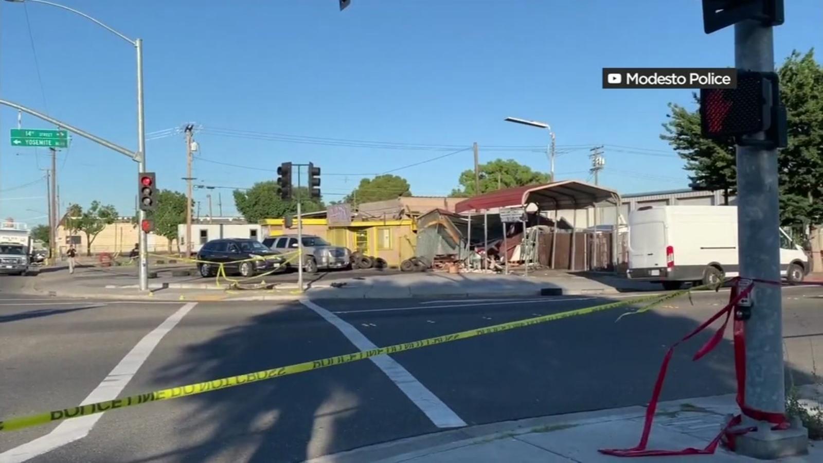 Two Bay Area men arrested in deadly Modesto crash