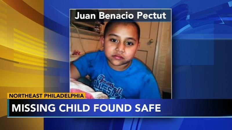 8-year-old child from Northeast Philadelphia found safe