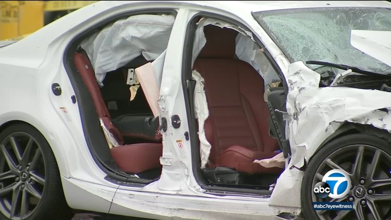 1 killed, 5 injured in North Hills crash