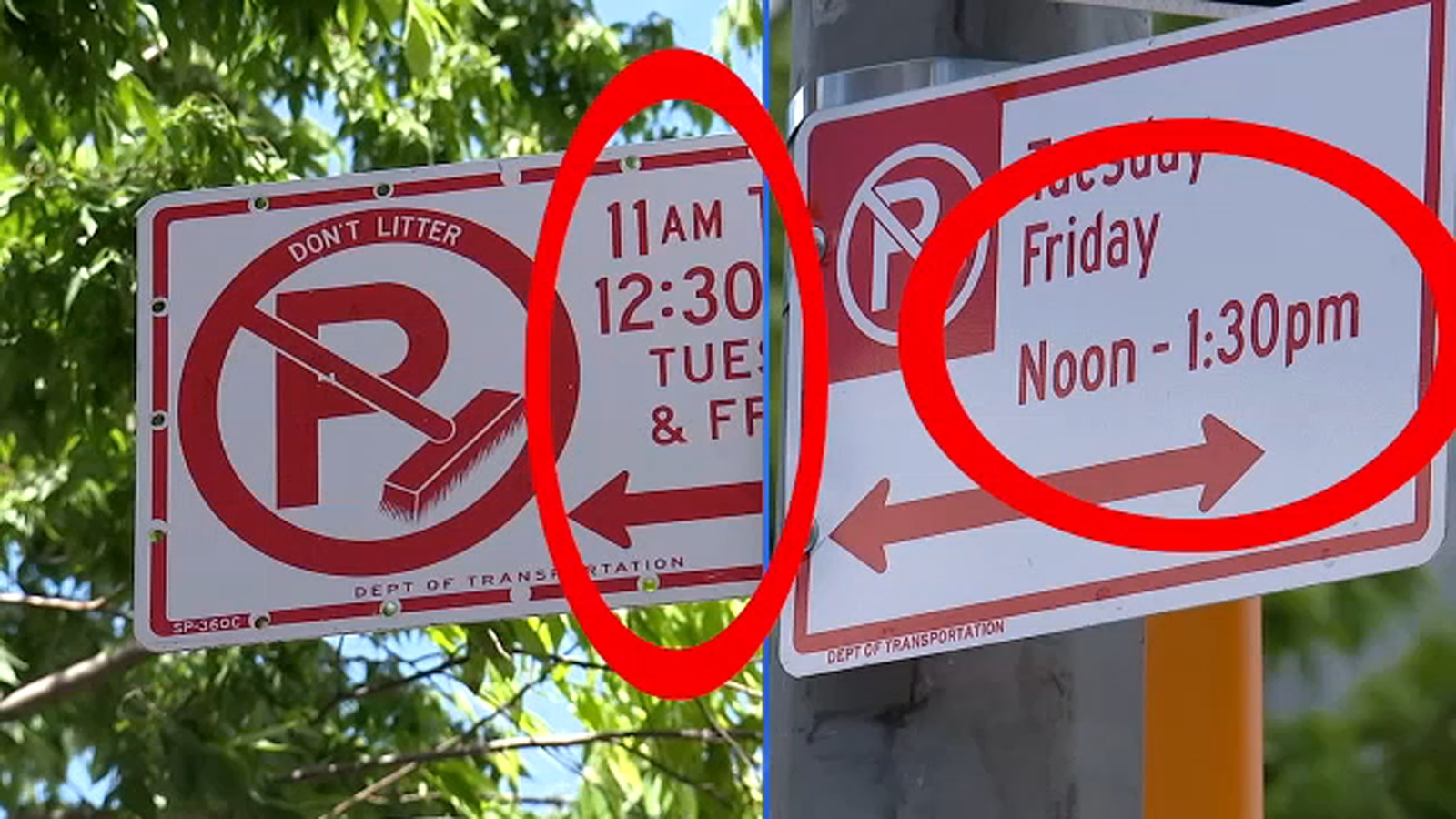 7 On Your Side corrects alternate side parking sign mistake