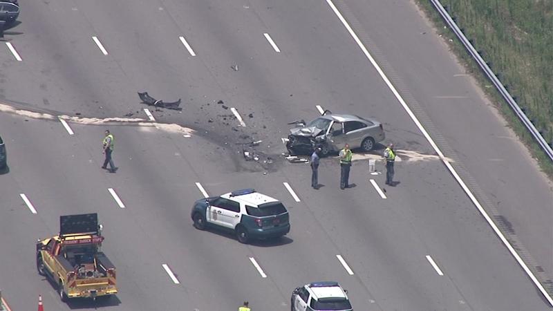 Wake County woman killed in wrong-way crash on I-40