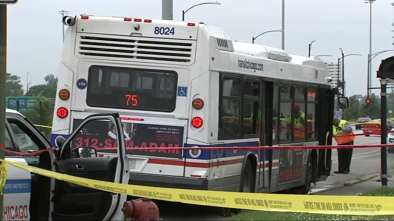 3 injured in CTA bus shooting on South Side