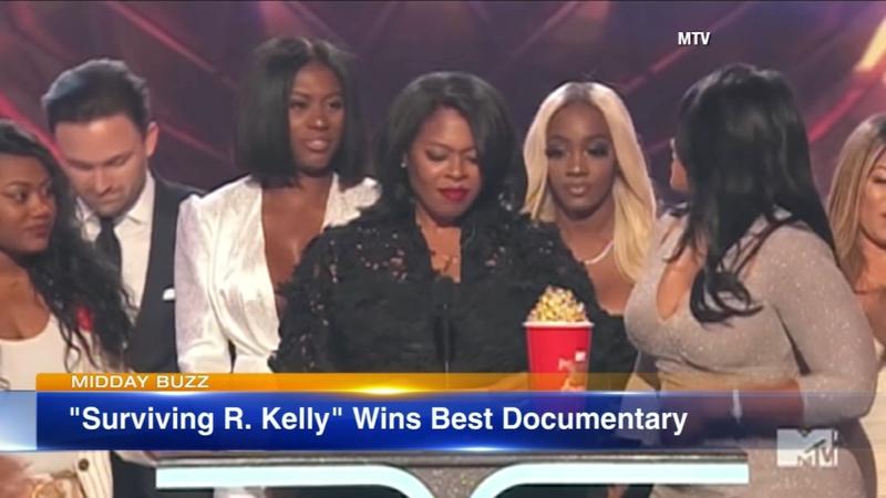 'Surviving R  Kelly' wins best Documentary at MTV awards