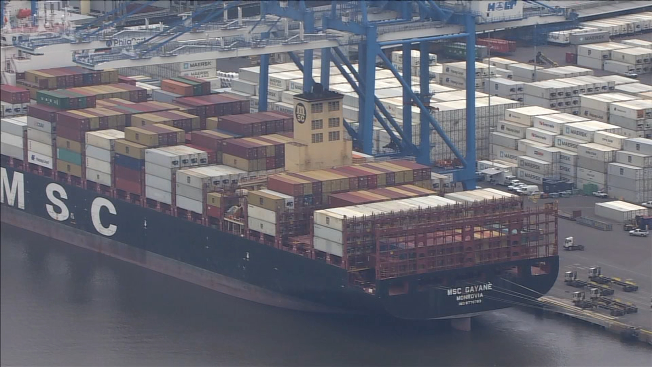 PHILLY DRUG BUST: Over 17 tons of cocaine worth $1 billion seized at