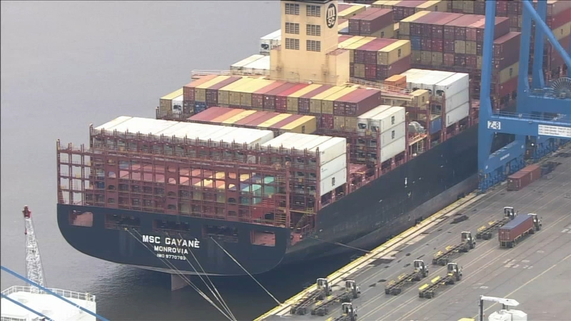 Over 16 5 tons of cocaine worth $1 billion seized at Philadelphia port