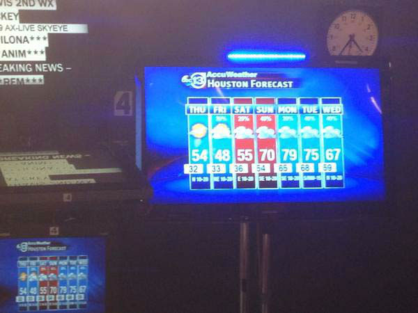 """<div class=""""meta image-caption""""><div class=""""origin-logo origin-image none""""><span>none</span></div><span class=""""caption-text"""">Here's what the anchors see while on the set delivering the news (KTRK Photo)</span></div>"""