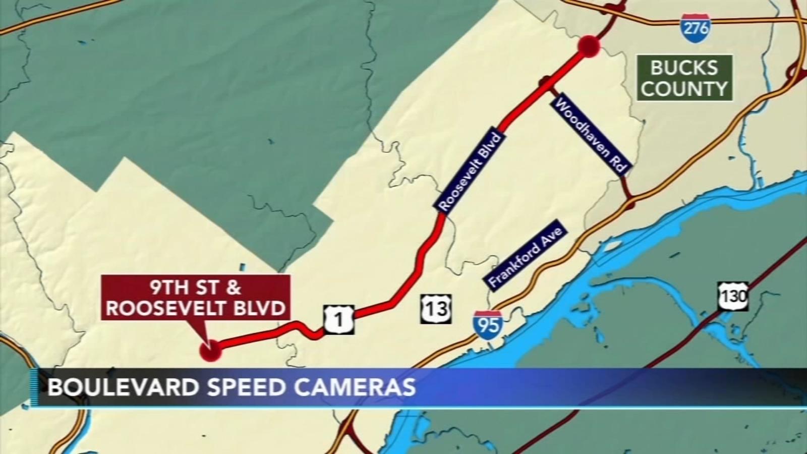 Mayor Kenny signs Roosevelt Boulevard speed cameras Legislation into Law