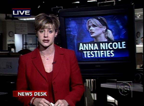 <div class='meta'><div class='origin-logo' data-origin='none'></div><span class='caption-text' data-credit='KTRK Photo'>Jessica Willey covering Anna Nicole Smith's inheritance court case</span></div>