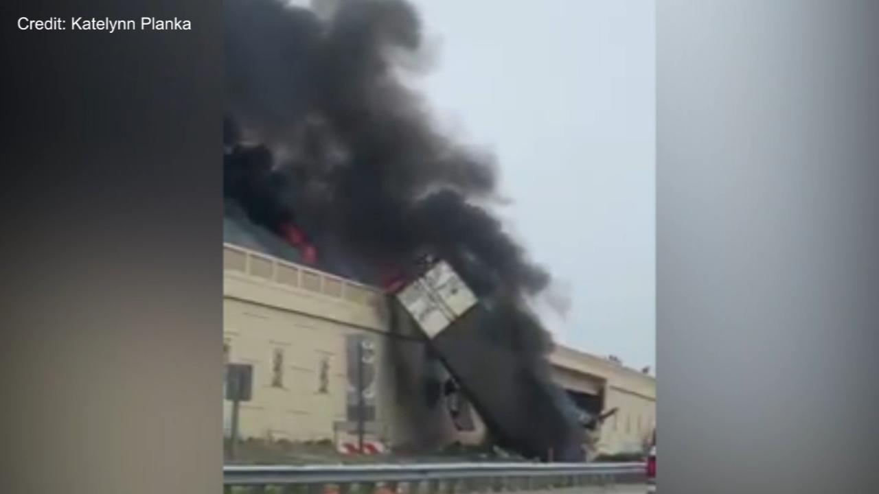 Racine County, Wisconsin, semi crash, explosion leaves 2