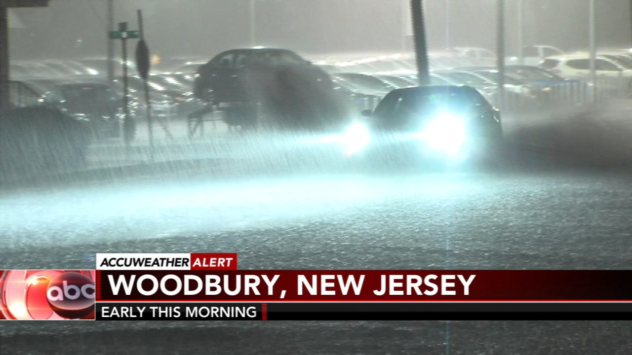 Flooding strands drivers, homeowners in New Jersey
