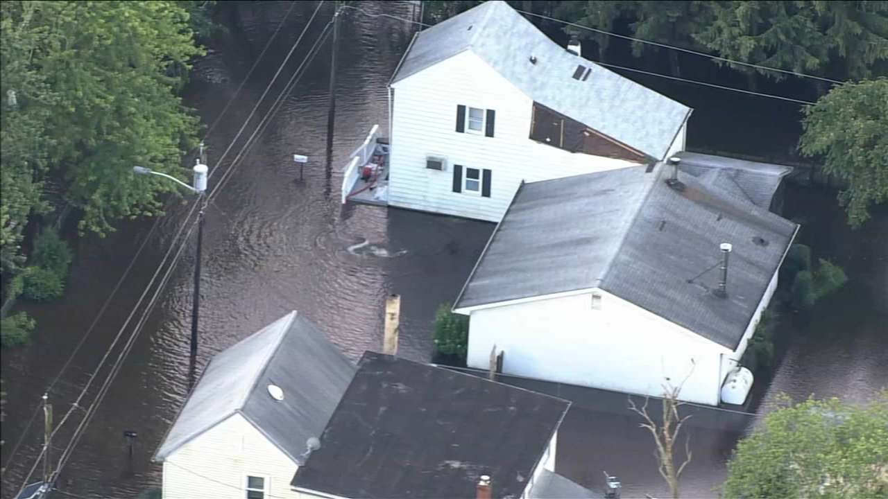 Heavy rain leaves behind damage in Montgomery County
