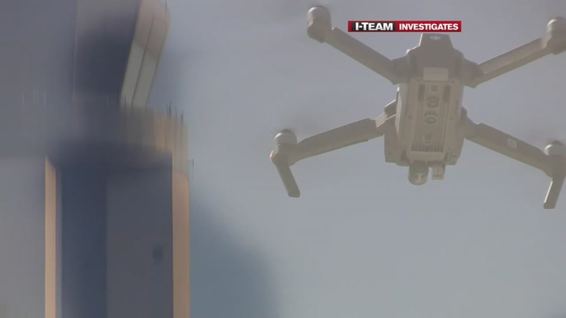 FAA cracking down on drones flying near airports