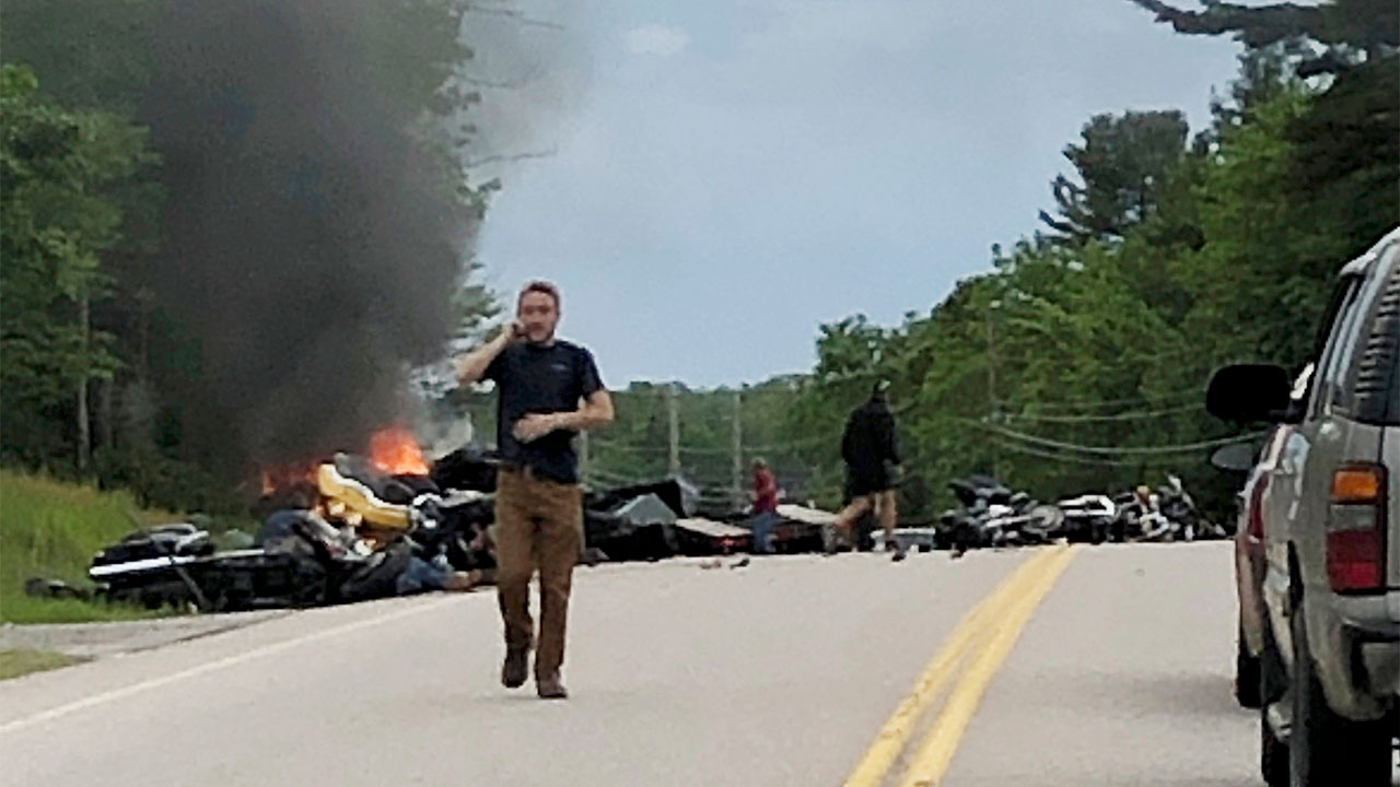 Jarheads Mc Motorcycle Crash In New Hampshire Leaves 7 Dead In