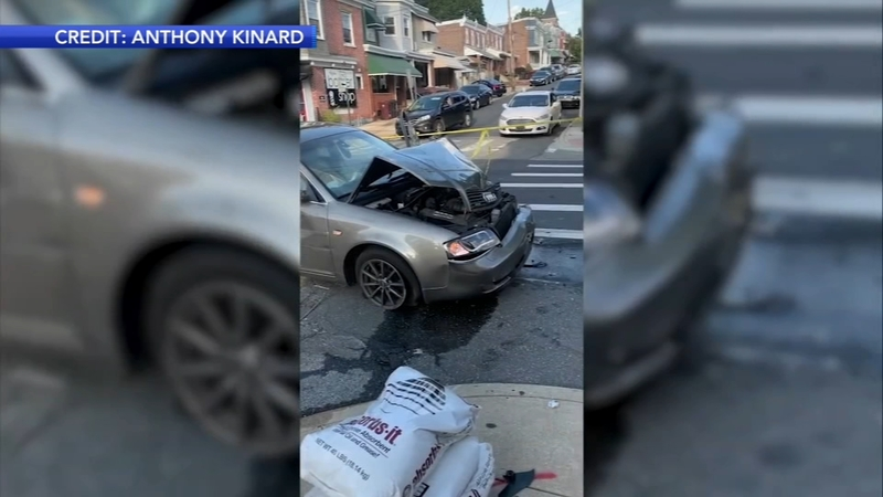 Driver Crashes Vehicle Into Several Cars In Wilmington
