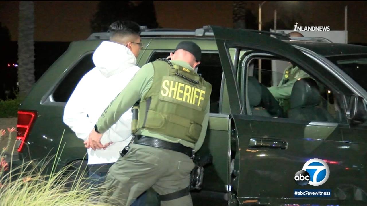 Corona Deputies Make Arrests Impound Dozens Of Vehicles At Street Racing Gathering Abc7 Los Angeles