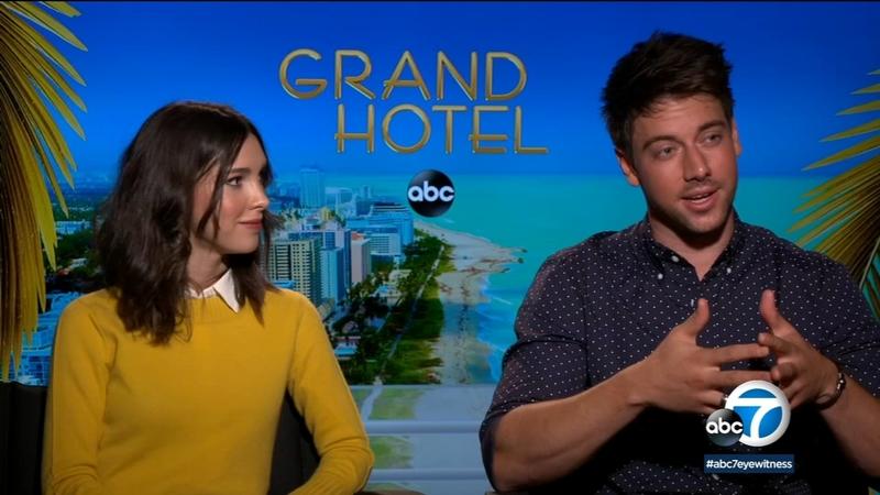 Grand Hotel Stars Reflect On Vibrant Diverse Sexy New Abc Series Abc7 Los Angeles