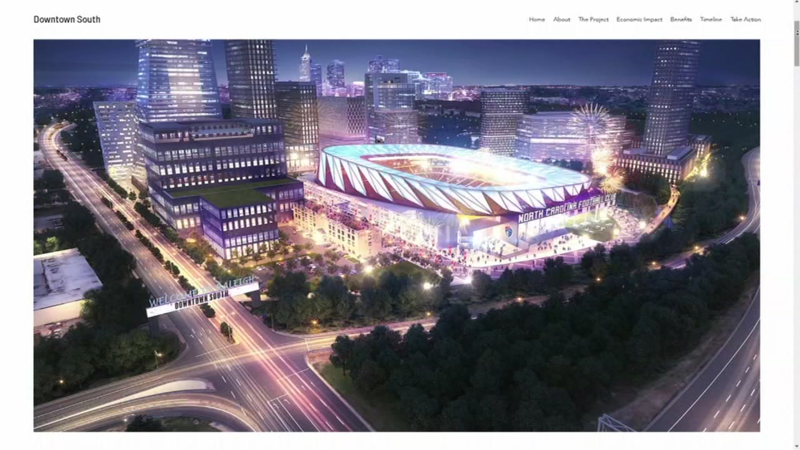 $1.9B investment to bring soccer stadium, hotels, shopping to downtown Raleigh