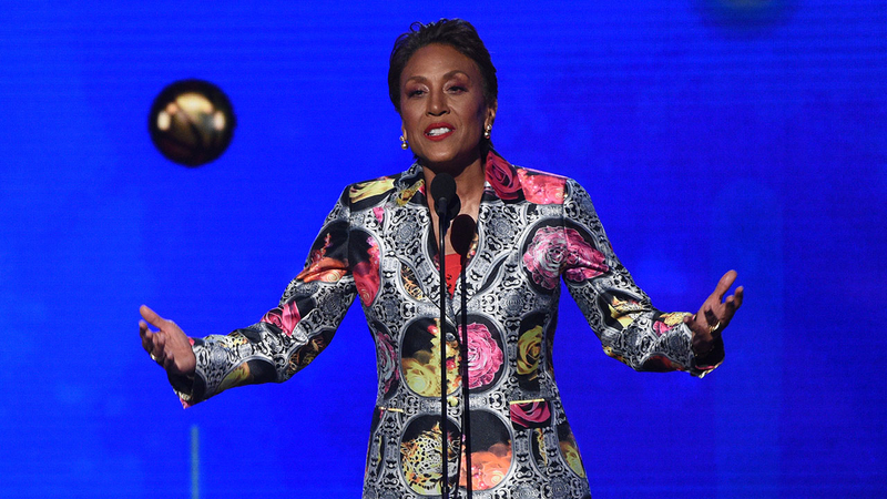 Robin Roberts honored for courage at the 2019 NBA Awards