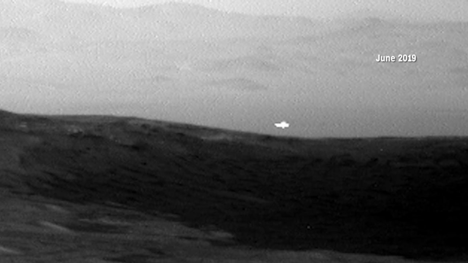 NASA Mars rover snaps photo of mysterious light in the distance