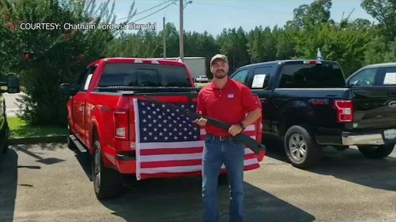Alabama Ford Dealership Giving Away Bible Shotgun And American Flag Abc13 Houston