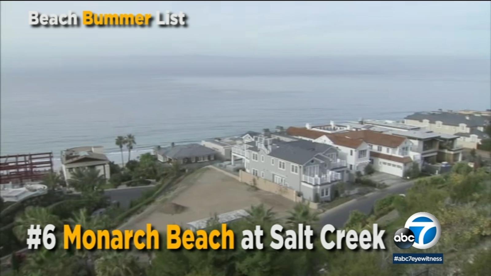 Five Southern California Beaches placed on Beach Bummer list