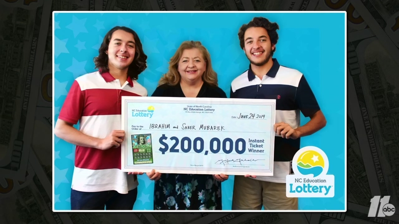 Twin brothers win big with scratch-off ticket