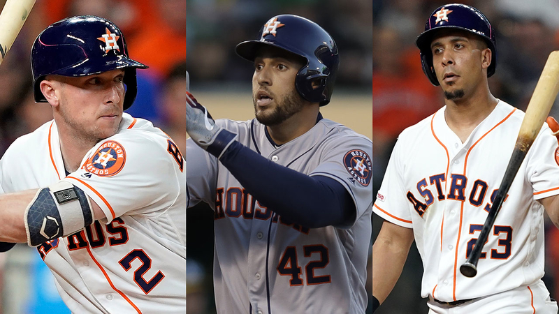 Astros 2019 >> 7 Astros Up For Votes In New All Star Game Starters Election