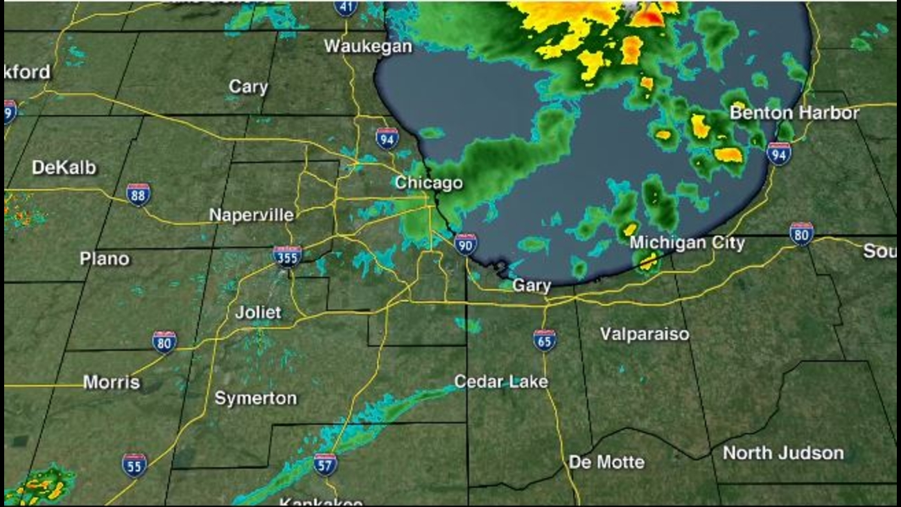 Chicago Weather: Storms move through Chicago area Thursday ...