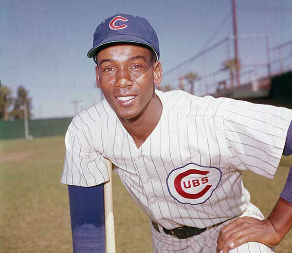 <div class='meta'><div class='origin-logo' data-origin='none'></div><span class='caption-text' data-credit='AP'>Ernie Banks, MLB  Hall-of-Famer, died Jan. 23, 2015 at the age of 83.</span></div>