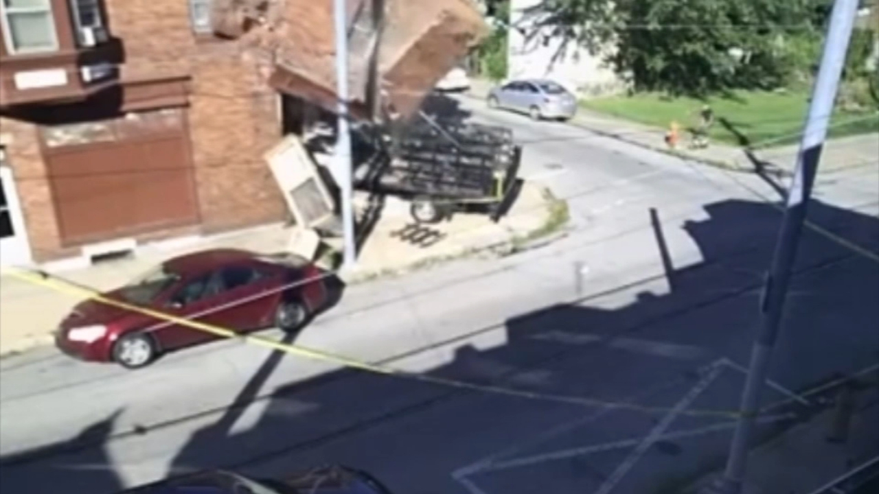 Truck crashes through East Mount Airy house causing it to