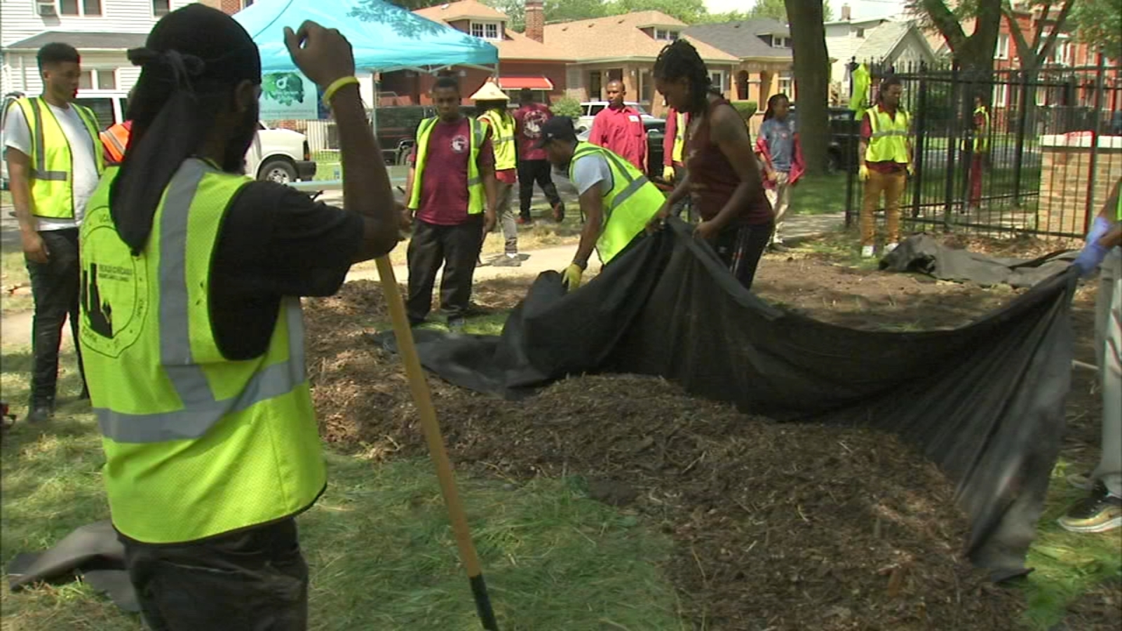 Grounds for Peace transforms vacant lots into green spaces in crime ridden neighborhoods
