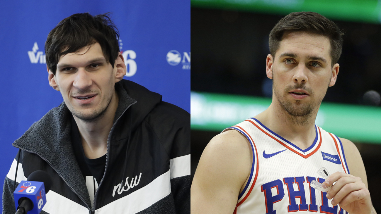 Boban Marjanovic T J Mcconnell Leaving 76ers Sources Tell