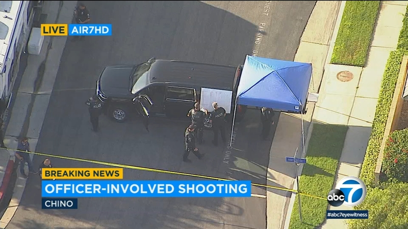 Chino officer-involved shooting leaves person hospitalized