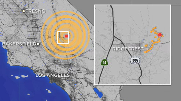 Image result for socal earthquake