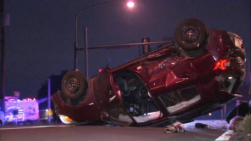 3 injured in 2 crashes on Roosevelt Boulevard in Philadelphia