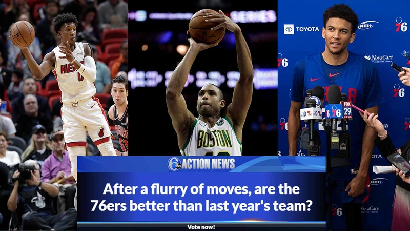 Are the Sixers better than last year's team?