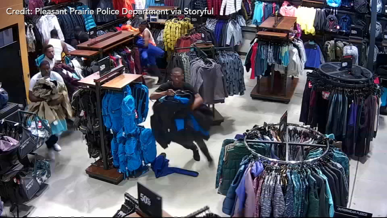 $30,000 in North Face merchandise stolen by 'flash mob'