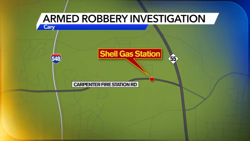 Navigate To The Closest Gas Station >> Armed Robbery At Shell Gas Station In Cary