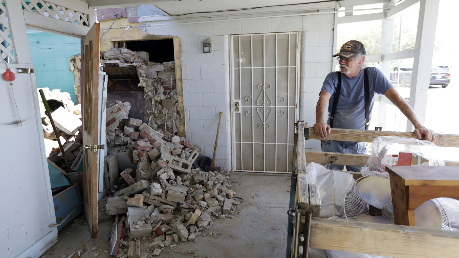 Ridgecrest Earthquake Hits Trona Hard Damaging Up To 50