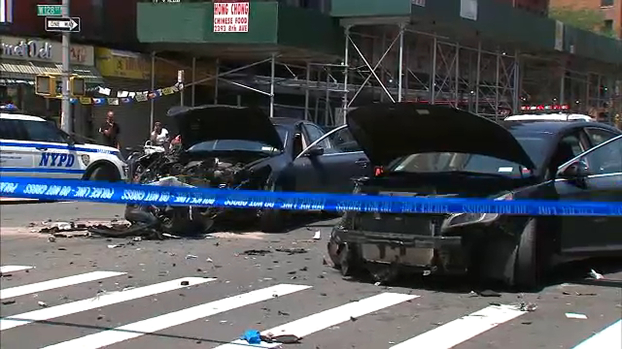 65-year-old pedestrian fatally struck by wrong-way driver in Harlem