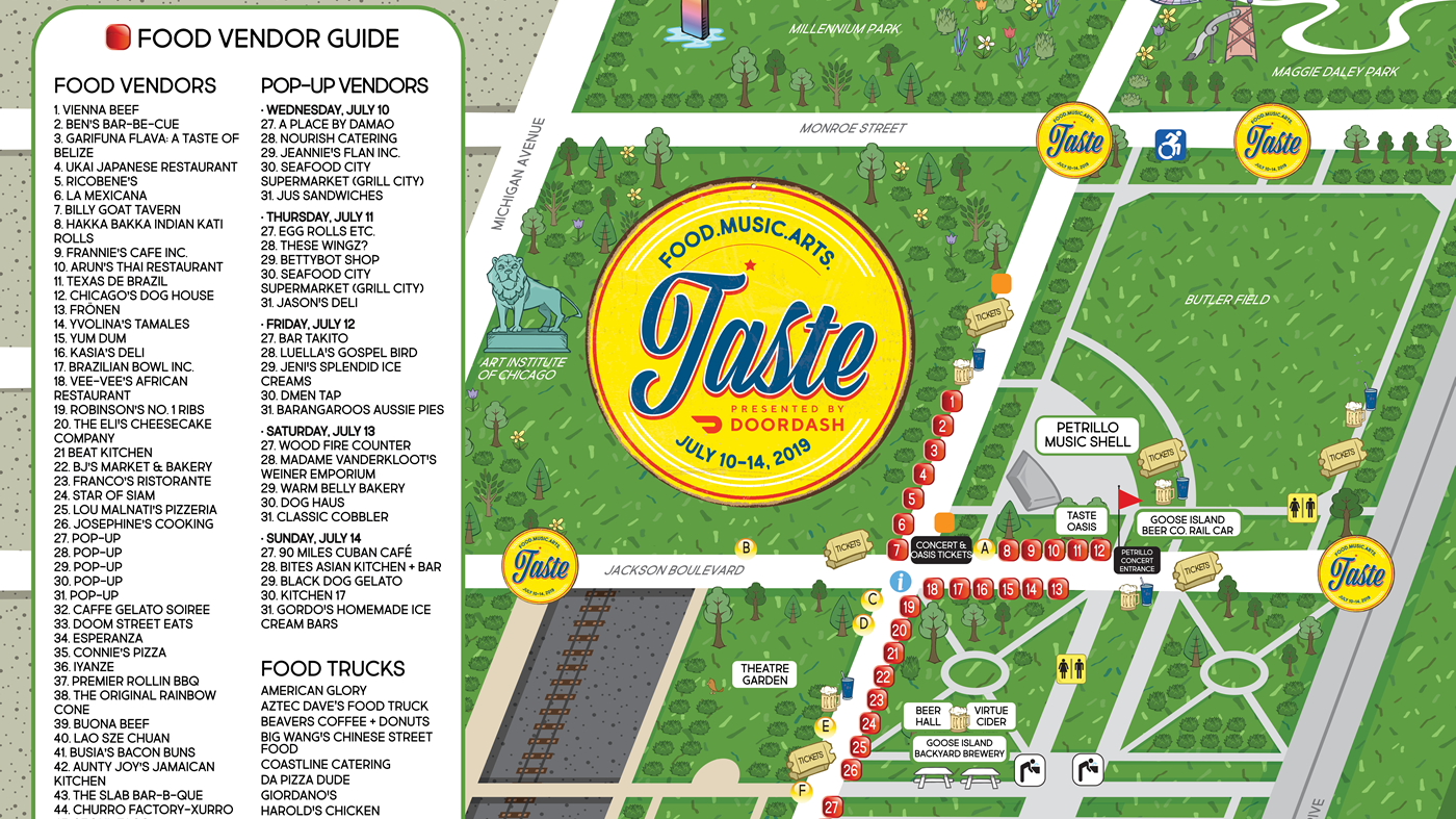 2019 Taste of Chicago Guide | abc7chicago com