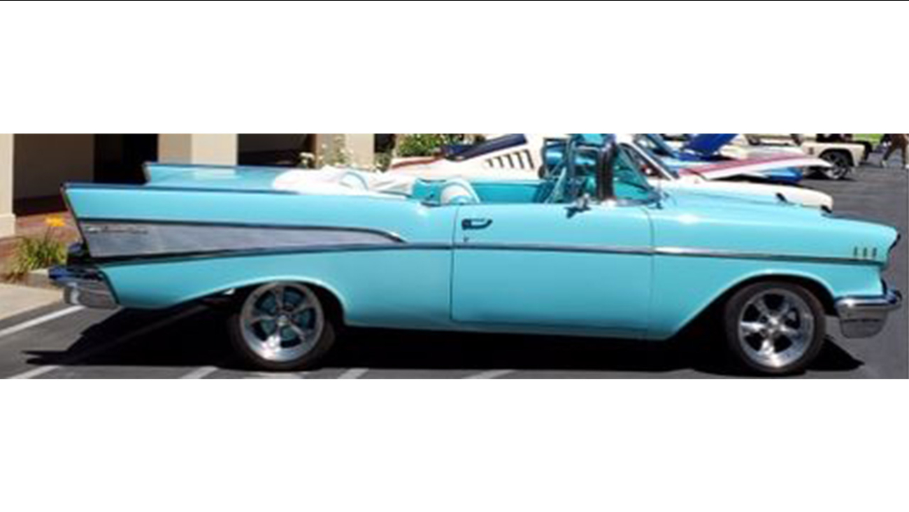 Clovis Police searching for stolen 1957 Chevrolet Bel Air