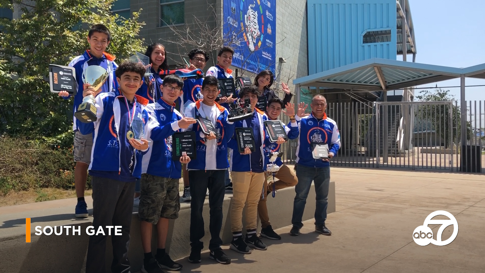 WORLD CHAMPS: South Gate students win automotive competition