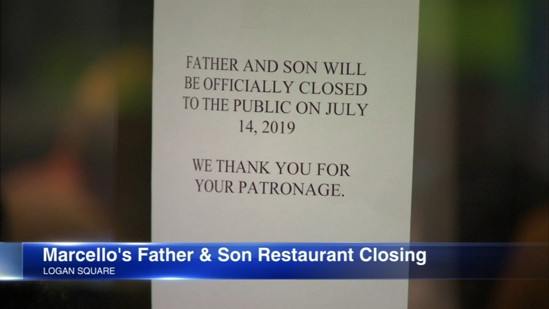 Marcello S Father And Son Closing In Logan Square After 72 Years