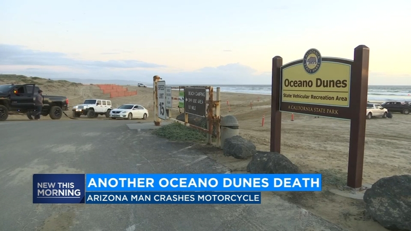 Man killed in off-roading accident at Oceano Dunes