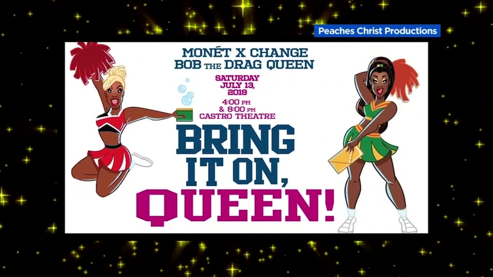 'Bring It On, Queen' playing at Castro Theatre on Saturday