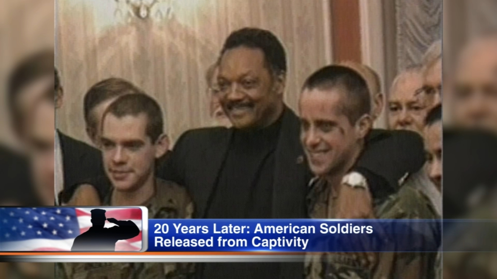 Rev. Jesse Jackson reunites with 2 former POWs he helped free 20 years ago