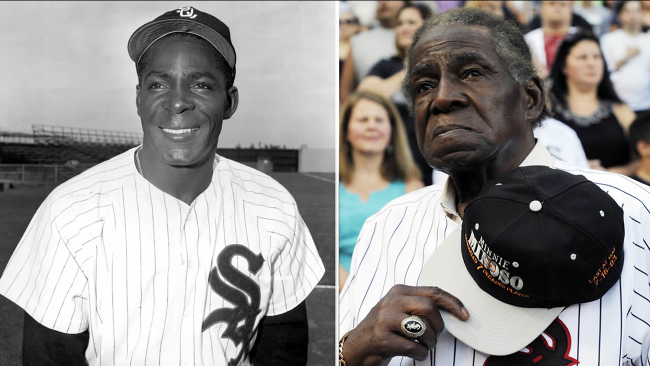 Former Negro Leaguer and Chicago White Sox player Minnie Minoso. (AP)